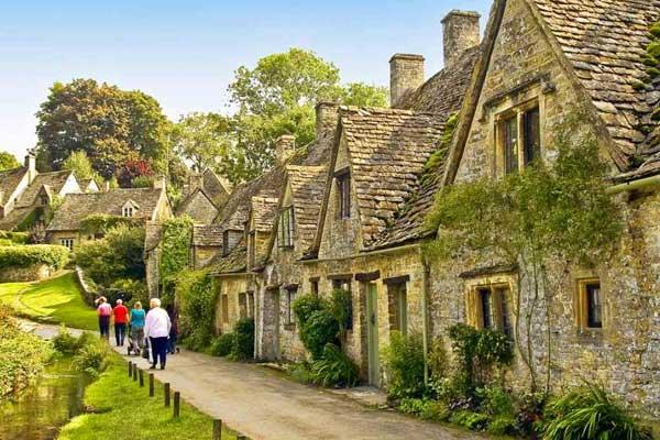Домик в английской деревне