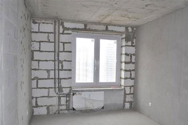 Квартиры без отделки