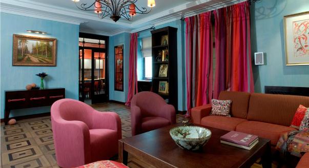 Цветовые решения для дизайна квартиры